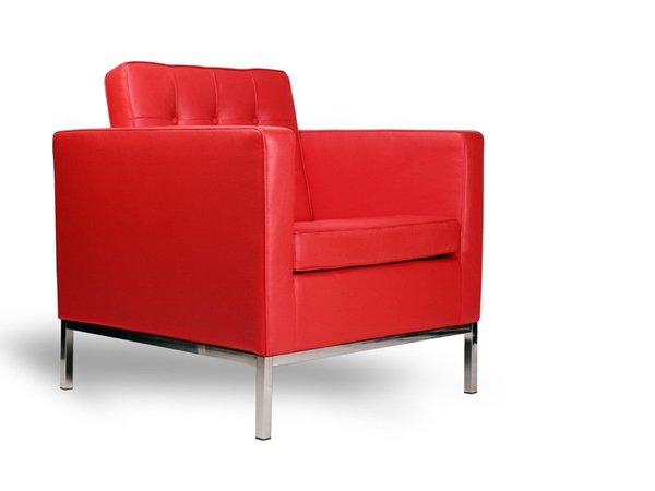 Knoll Lounge Sessel - Rot